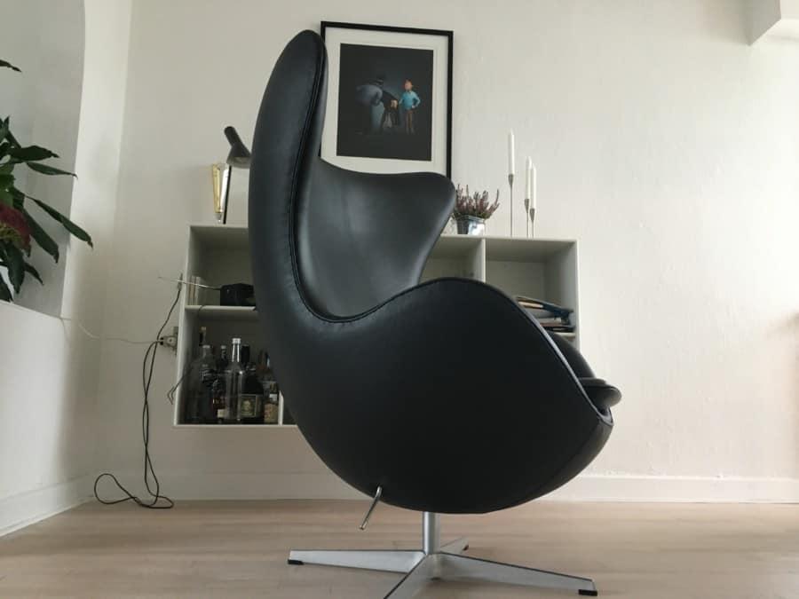 Arne Jacobsen.  I ren anilin læder.