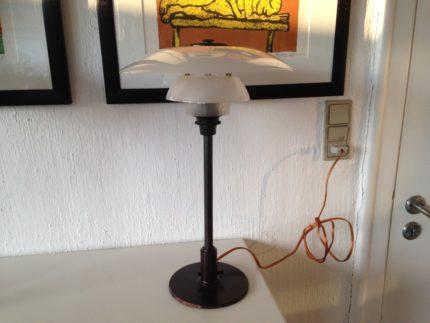 Ph Bordlampe med glasskærme